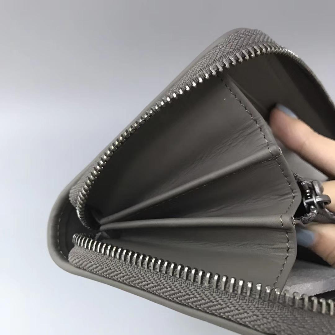 Bottega Veneta 宝缇嘉 经典单拉钱包 19cm顶级胎牛皮