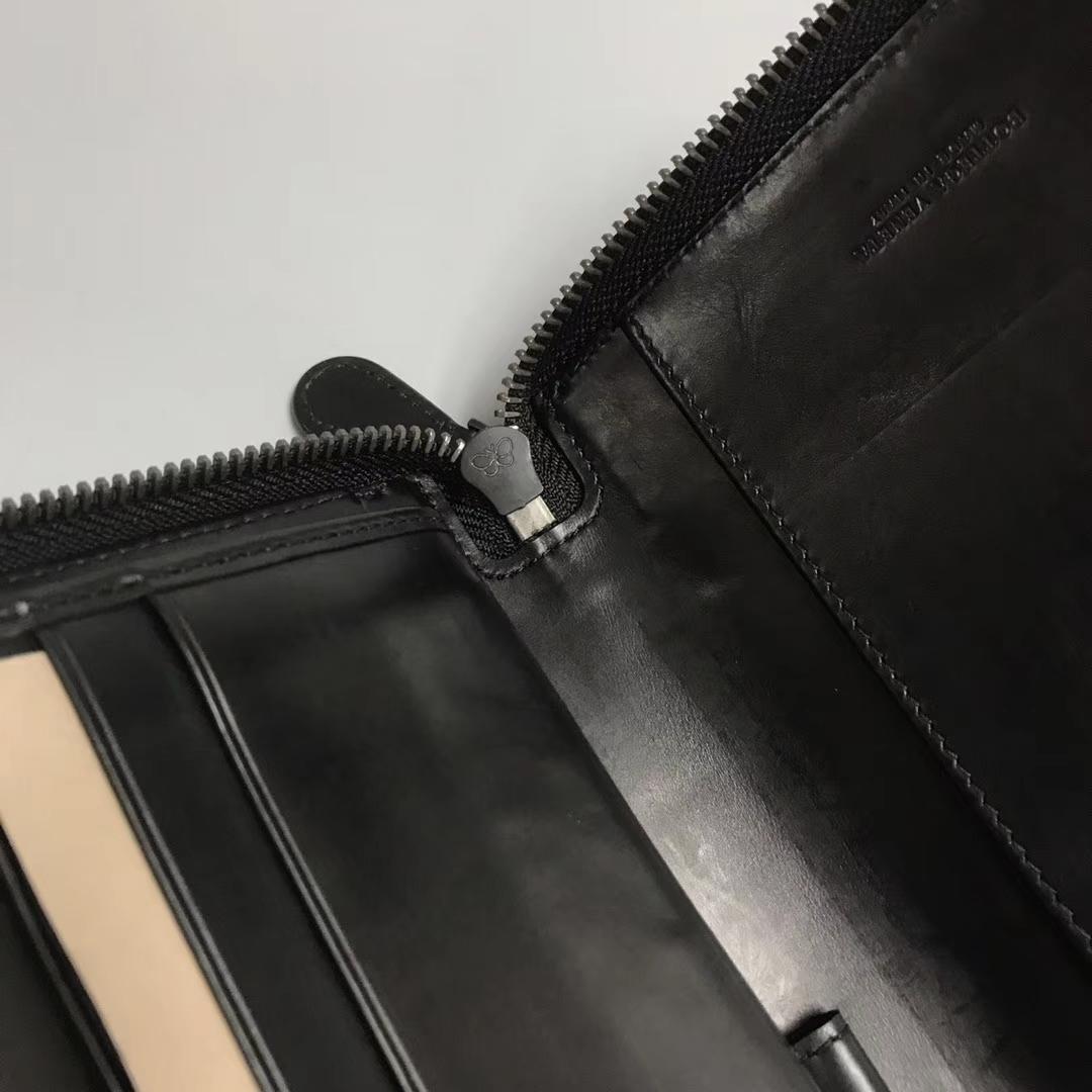 #6013男款钱夹可当手包 大气款 顶级胎牛皮 蝴蝶拉牌 21cm