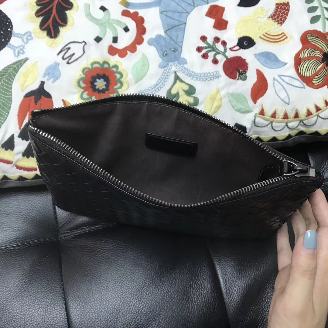 Bottega Veneta 宝缇嘉手包#1025男女通用手包 实用 原版胎牛皮 23*15cm
