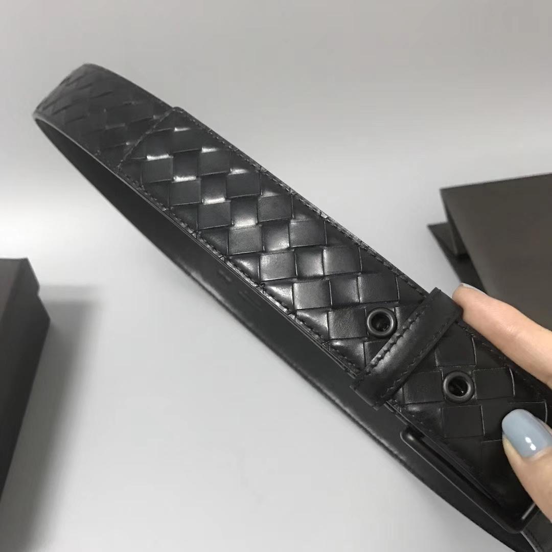 Bottega Veneta 宝缇嘉腰带 顶级胎牛皮 五金IP电镀工艺 (目前只有85、90欧码)