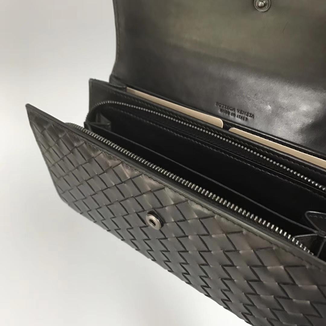 Bottega Veneta 宝缇嘉 073经典款 裡面也是皮裡的 顶级胎牛皮19cm