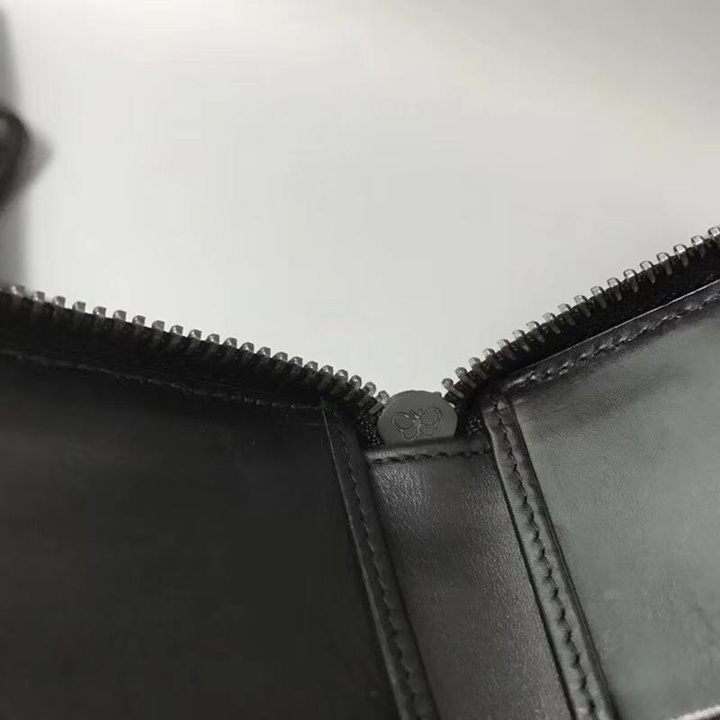 Bottega Veneta  宝缇嘉BV钱包 1705男女通用款钱包拉链款 原版胎牛皮