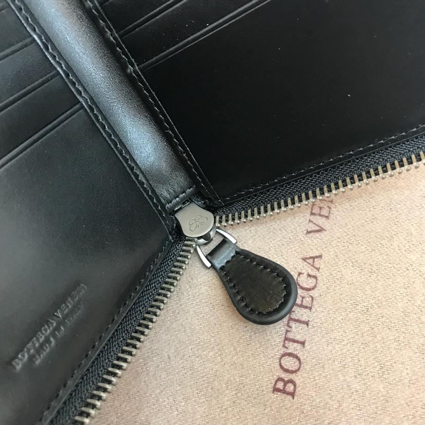 BV新款钱包 代购版9172顶级原版胎牛皮内里原版羊皮  11 /9.5 /2