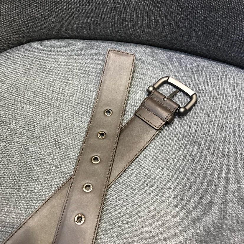 代购版bv经典款皮带 原版牛皮 码数齐全 黑色 咖啡 深蓝 配包装