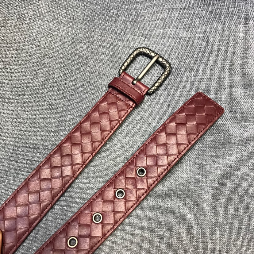 代购版新扣头皮带 新西兰进口牛皮 原厂五金 原版包装  3.5厘米宽男女通用款