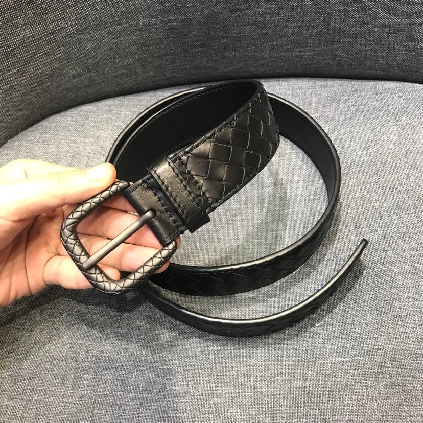 代购版 新扣头皮带 新西兰进口牛皮 原厂五金 原版包装3.5厘米宽 男女通用款