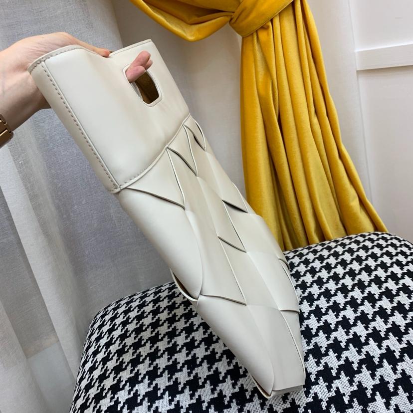 Bottega Veneta 宝缇嘉 SlipTote扁平购物袋 高级小牛皮 里外全皮38*34cm