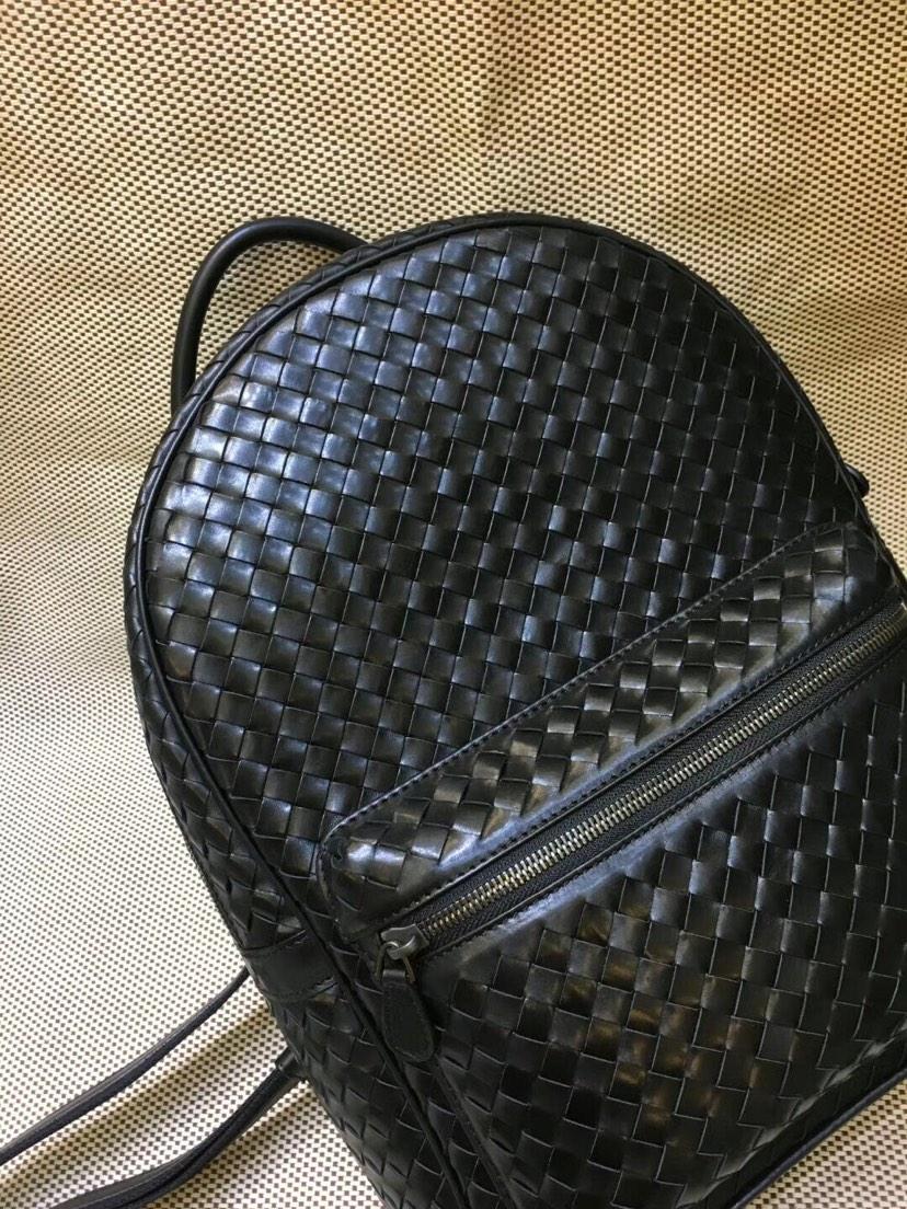 宝缇嘉 代购7785 市场最高级别胎牛皮书包 顶级原版胎牛皮 纯手工编织 超大容量