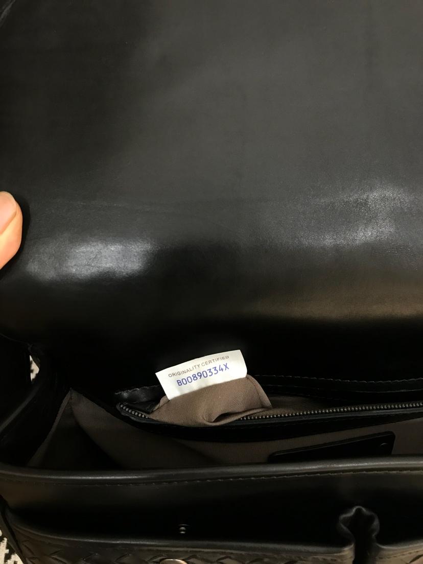 宝缇嘉 代购版7636 顶级原版胎牛皮 官方新款男士斜挎包 30*23*12cm