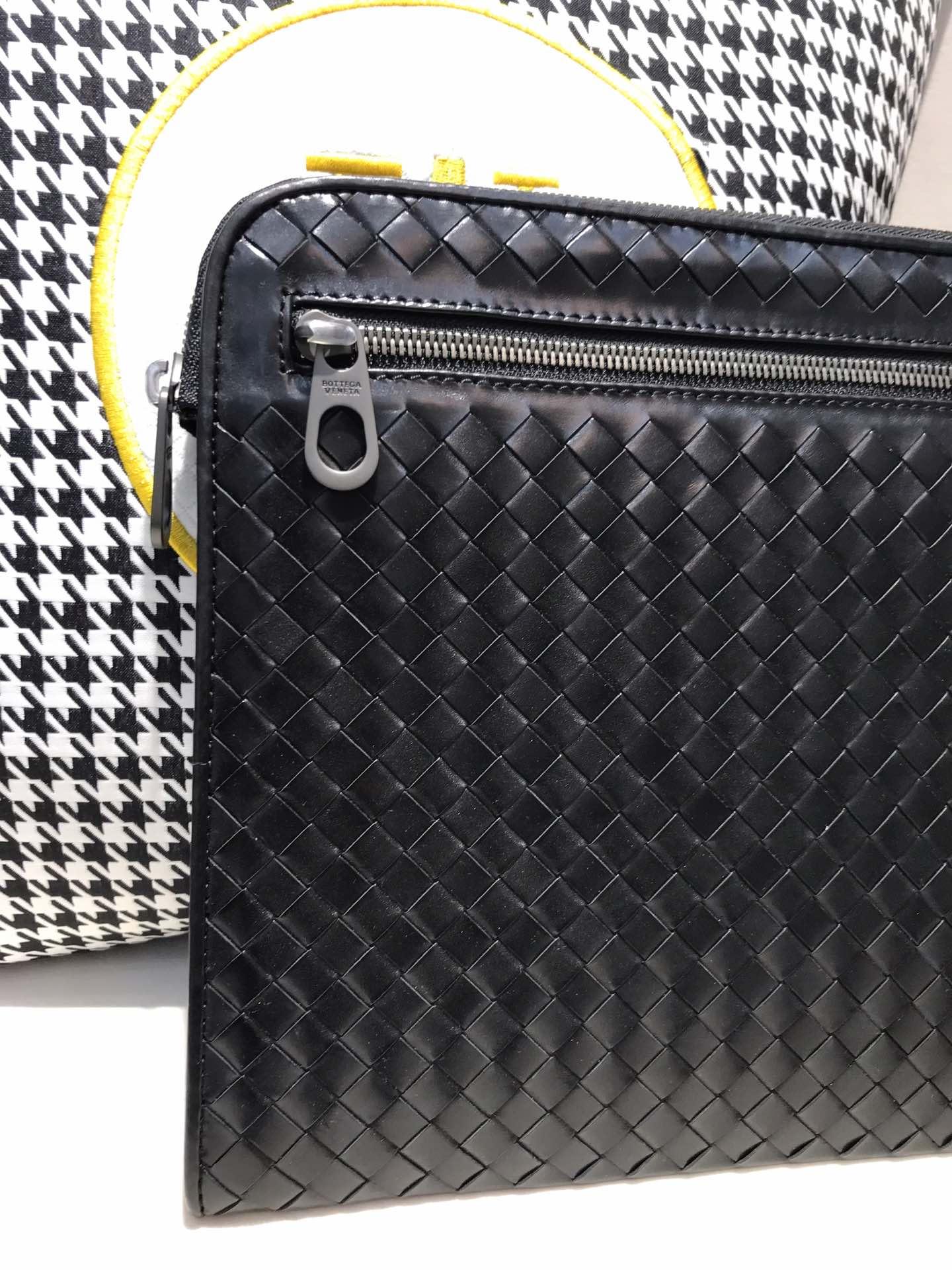 BV代购版7782 顶级原版胎牛皮内里进口布料 专柜经典款手包 35cm