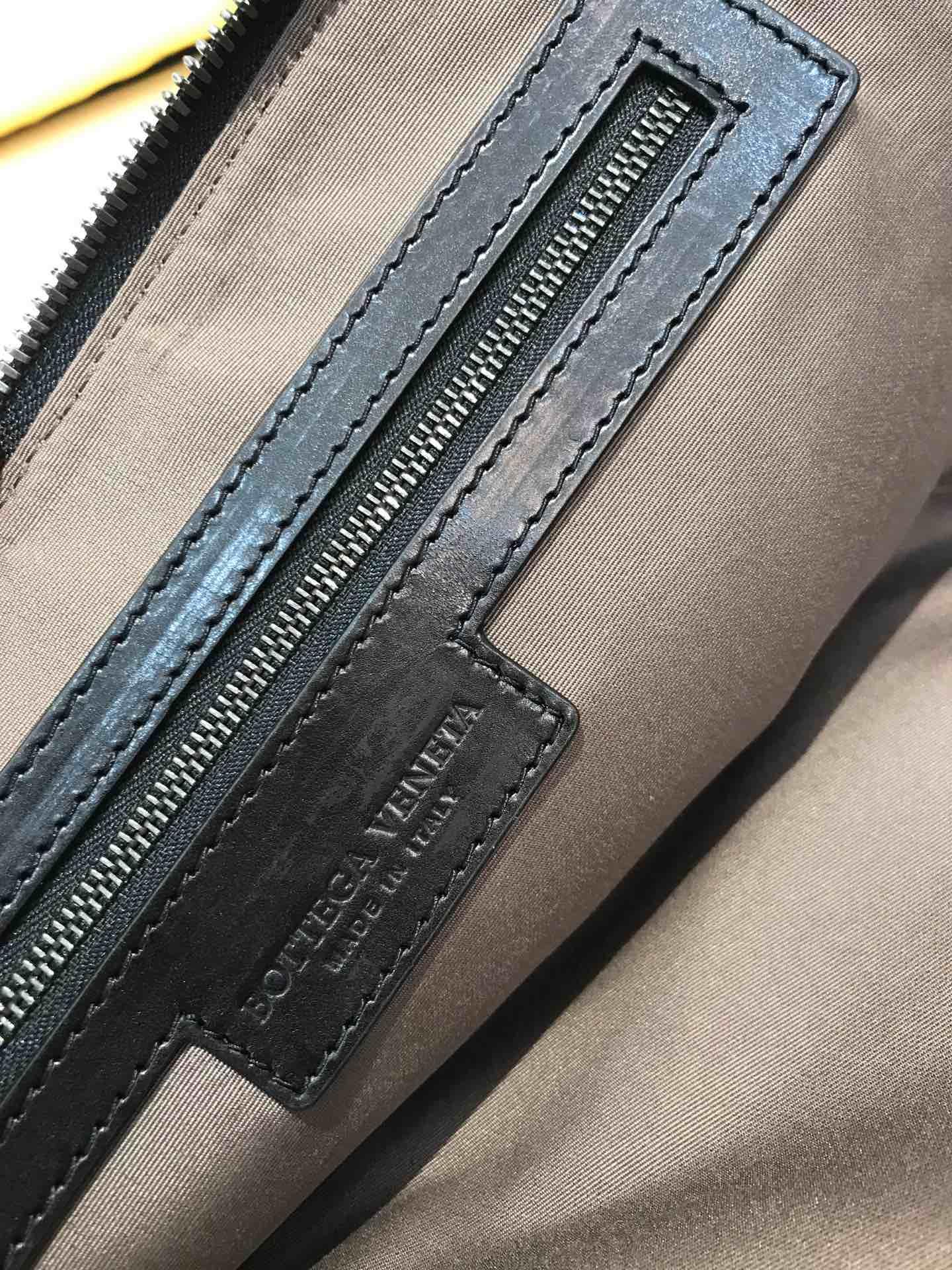 宝缇嘉 经典款男士手包 代购版7711顶级原版胎牛皮 26cm