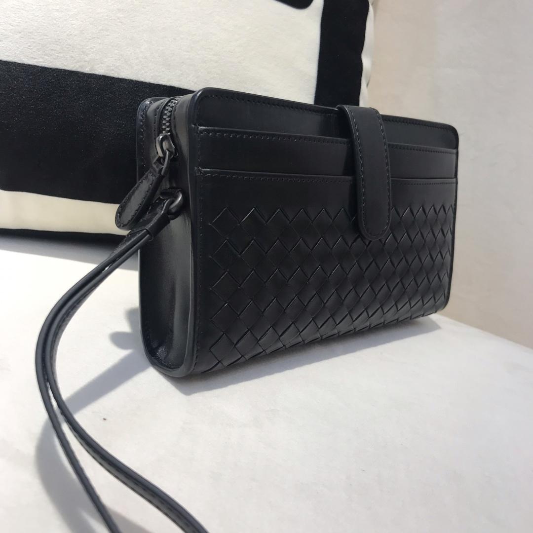 代购版2007新款男士手包 顶级原版胎牛皮 BV官网同步 全皮手包