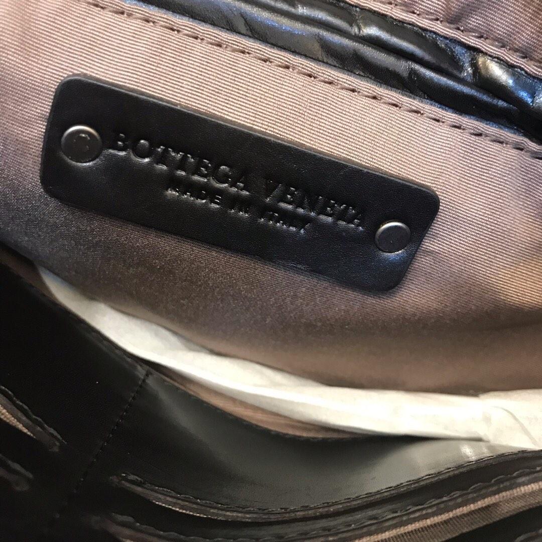 BV代购7725新款男士手包 顶级原版胎牛皮 内里进口布料 29cm