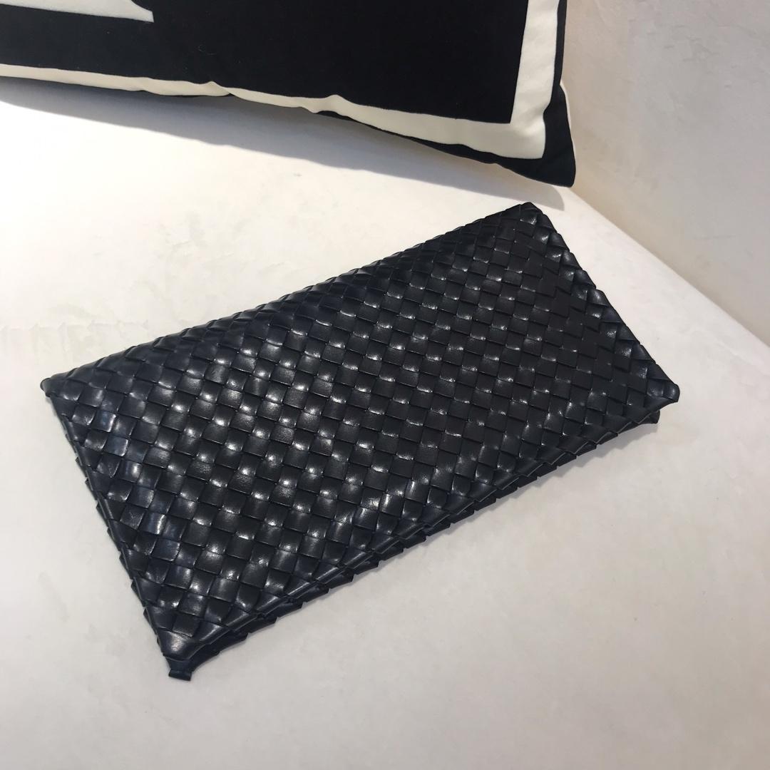 BV 宝缇嘉官网 代购版6699 顶级原版胎牛皮 内里原版羊皮 女士新款手包 尺寸28·5x15