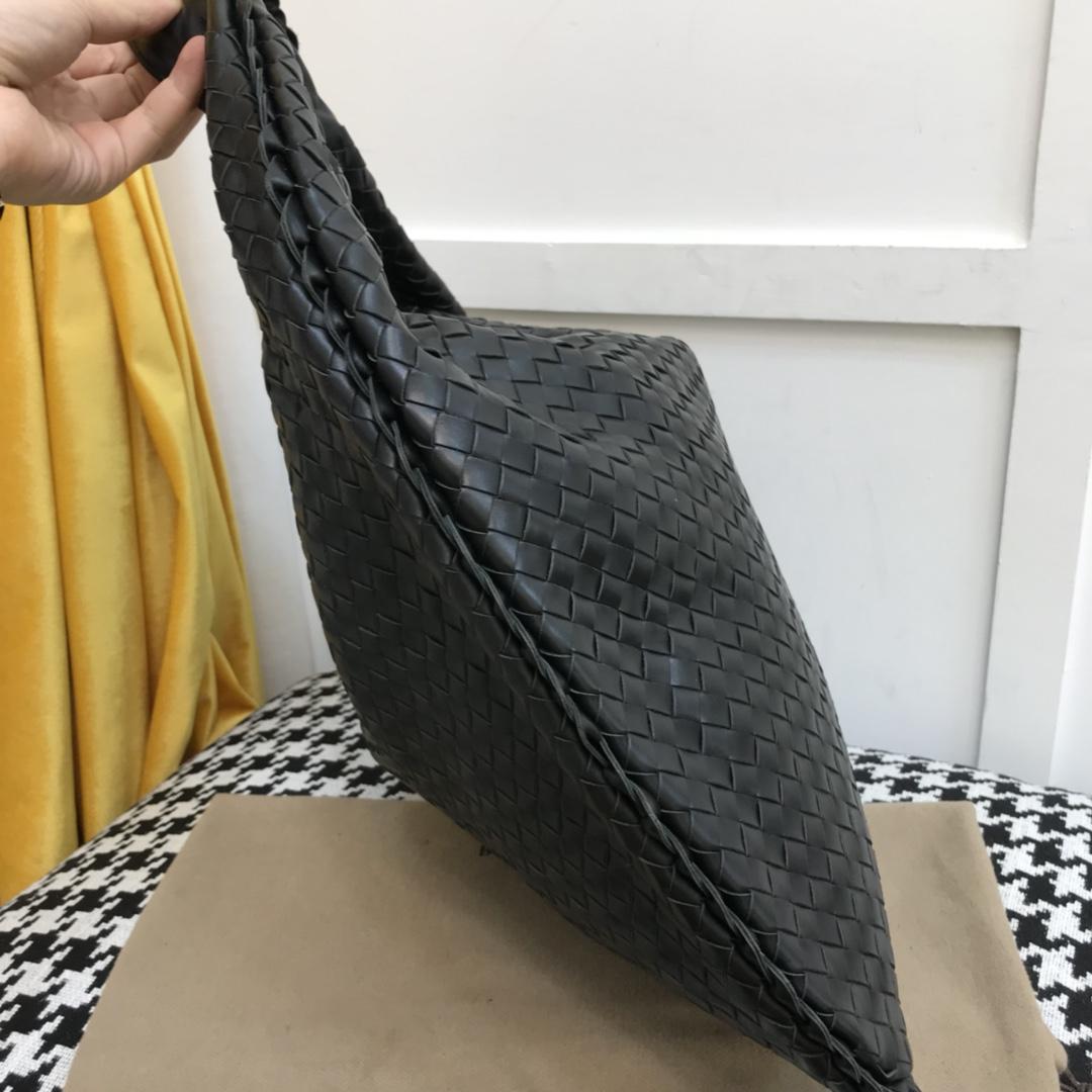 代购版5092顶级原版胎牛皮 内里原版羊皮官方经典款 饺子包 48cm