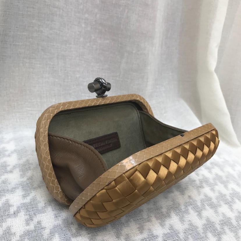 BV晚宴包小号现货颜色纯手工编织