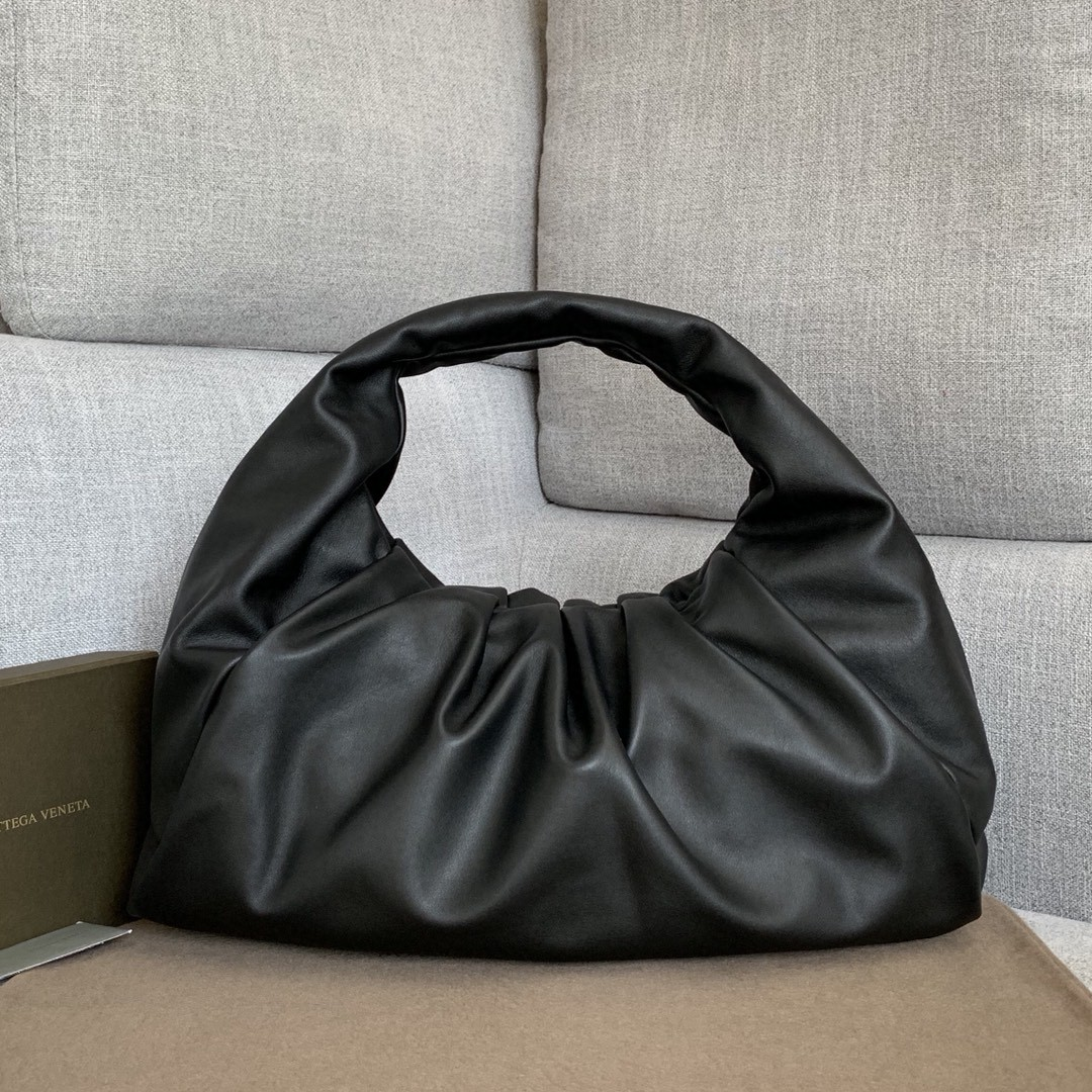 【P2370】BV 早春新品 607984牛角包 黑色 54-21-40