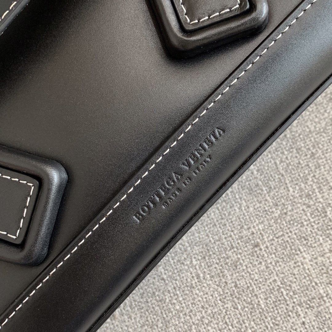 【P1400】Bv 小号Arco 580725A 平纹 黑色 袋口33 底22宽6高22 (不含手柄)