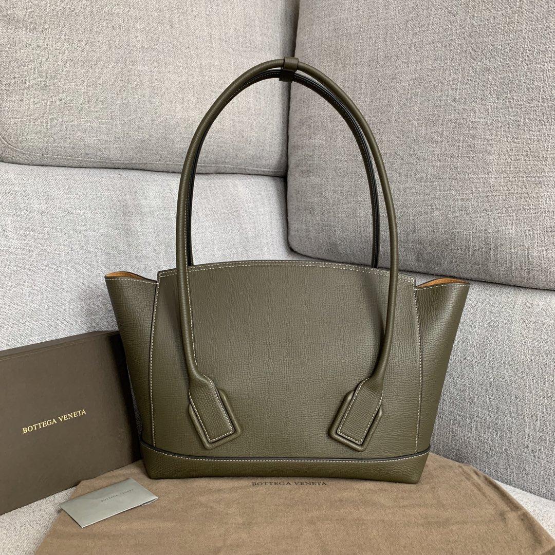 【P1800】BvbigArco购物袋 575941大象纹军绿 大号袋口48底32宽12高24(不含手柄)