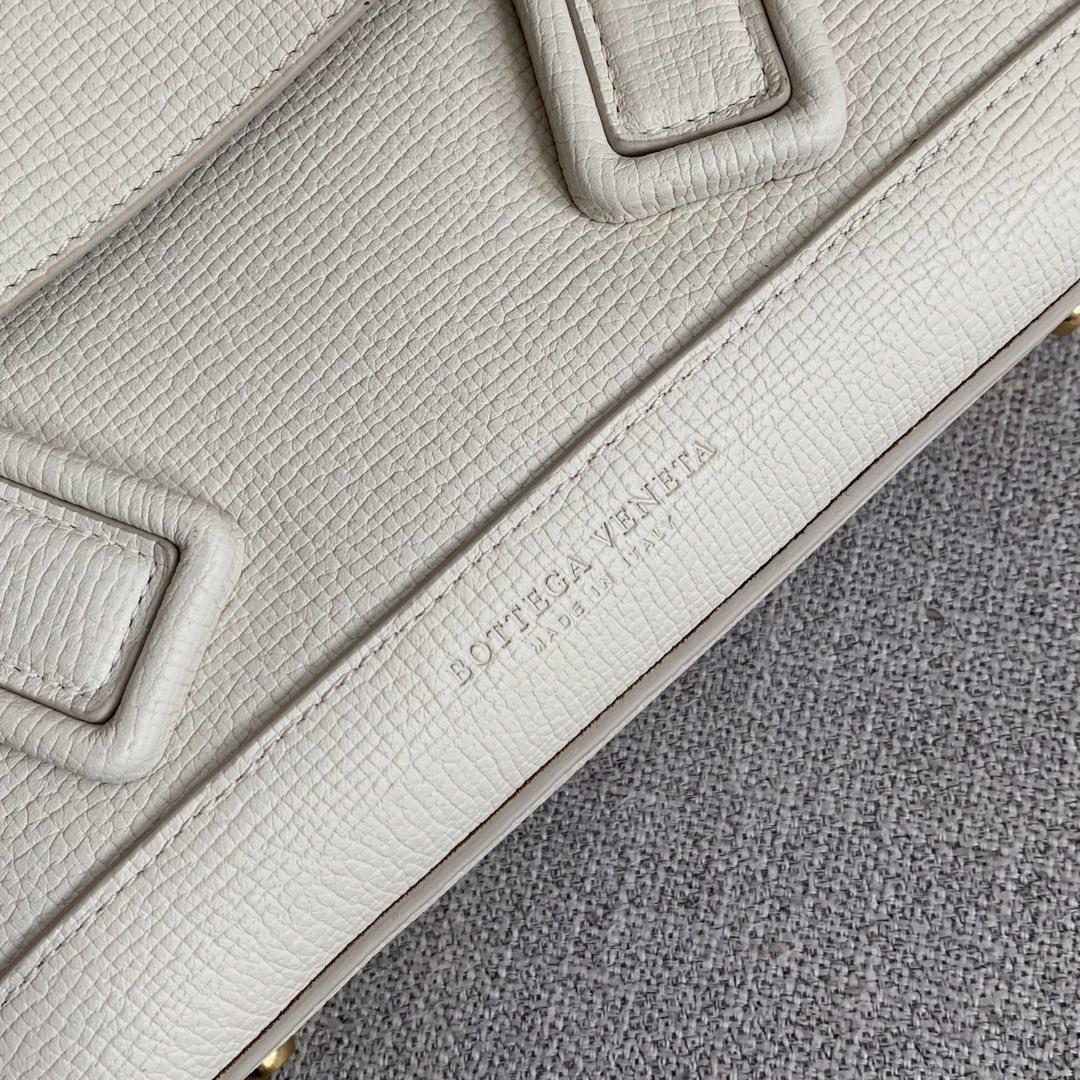 【P1400】Bv小号Arco购物袋 580725大象纹白色 袋口33底22宽6高22(不含手柄)