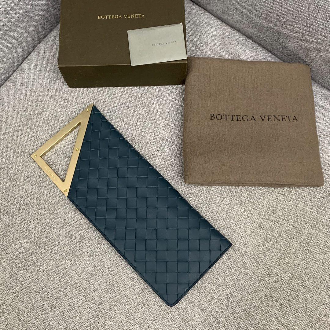 【P1020】BottegaVentea 33-13-2长方型版型 591664湖水蓝