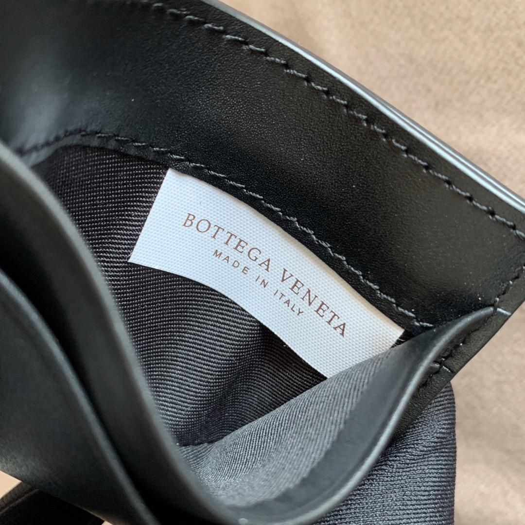 【P260】BV 内袋卡包 小号 567185 10-7-1 黑色