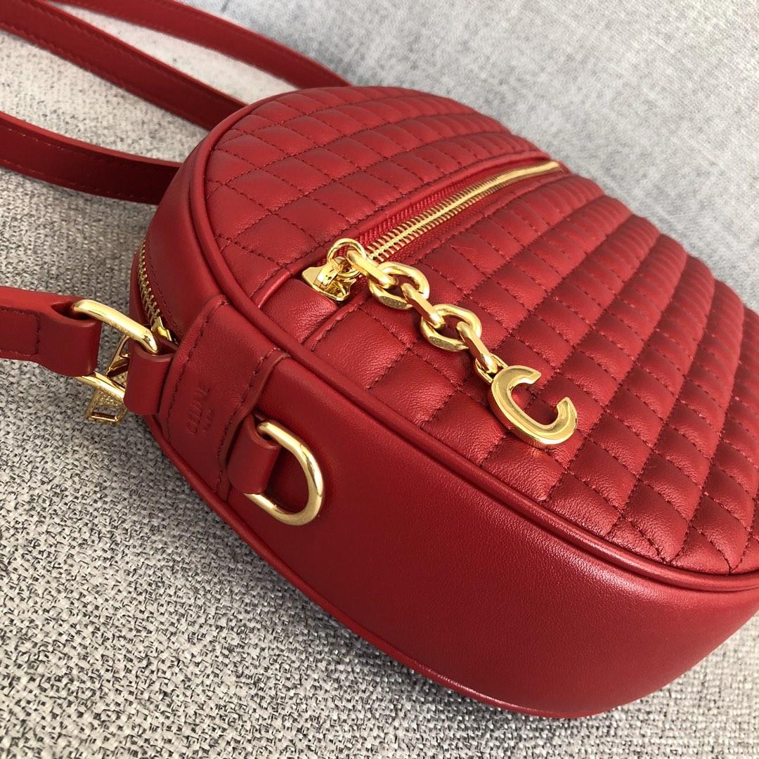 【P830】宝缇嘉BV女包 大号 24.5x20x5.5 牛皮/红色原单品质