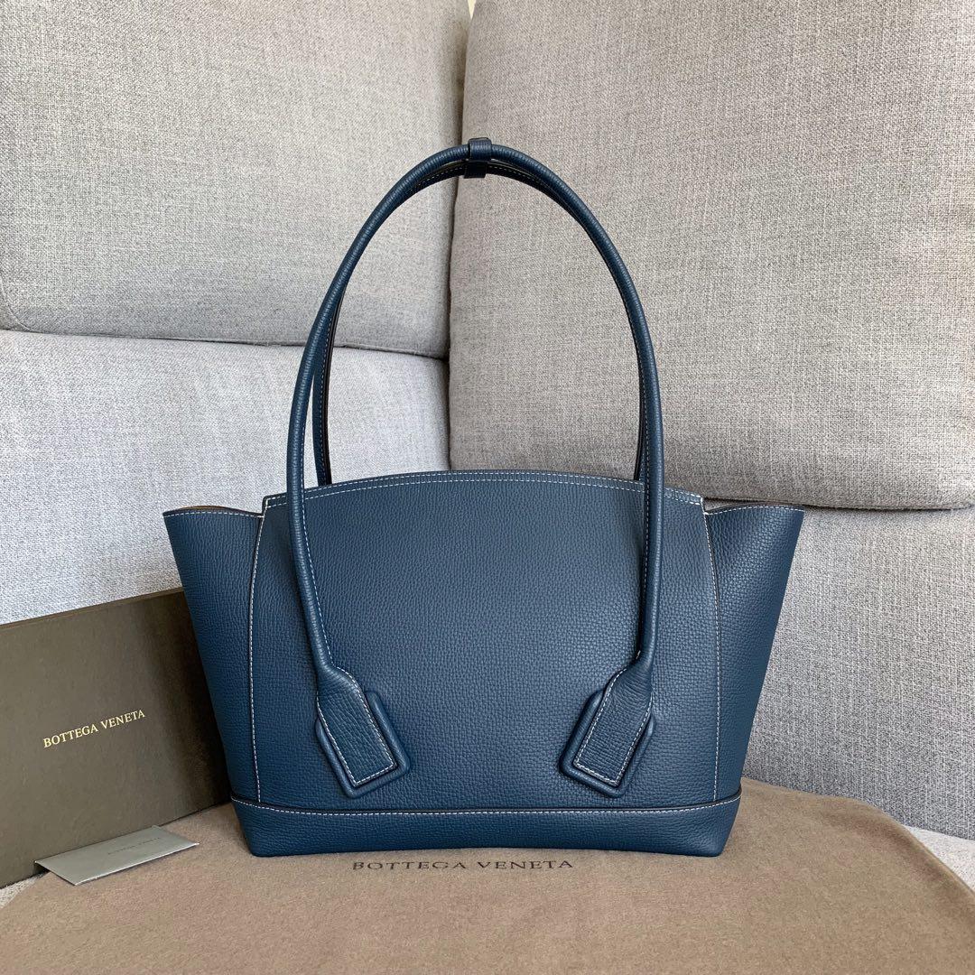 【P1800】BvbigArco购物袋 575941大象纹深蓝 大号袋口48底32宽12高24(不含手柄)