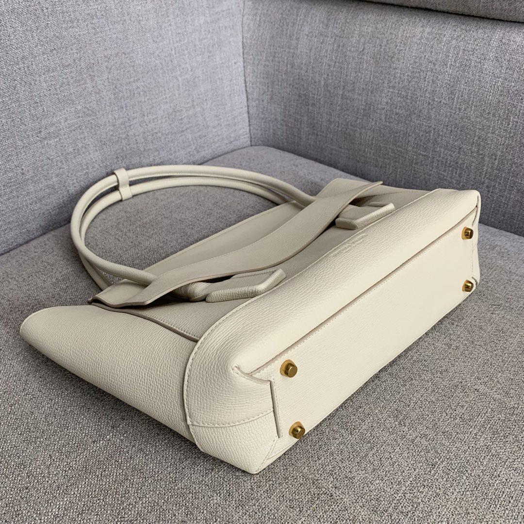 【P1800】BvbigArco购物袋 575941大象纹白色 大号袋口48底32宽12高24(不含手柄)