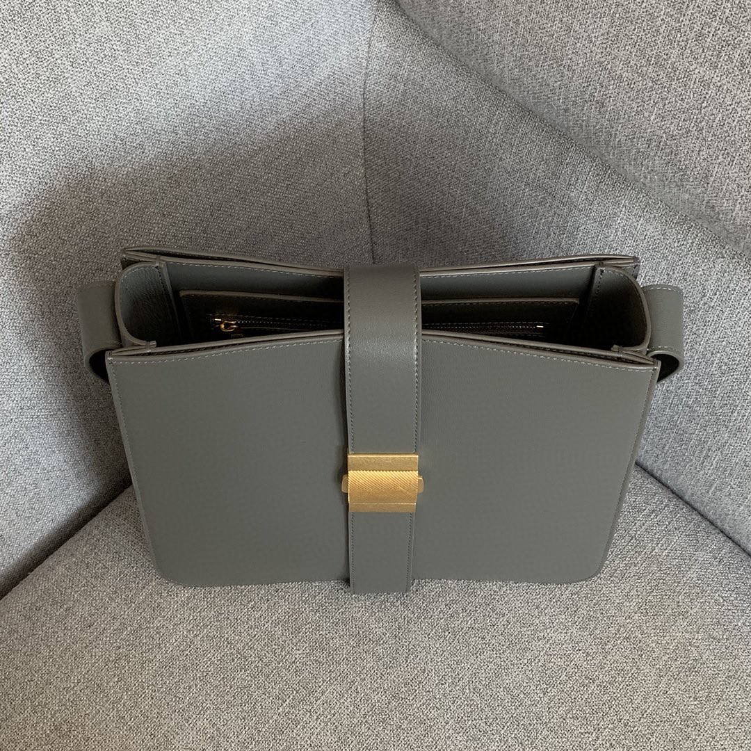 【P1880】BVMARIE秋冬新品 30×28×7.5 羊皮/灰色 578344 金扣