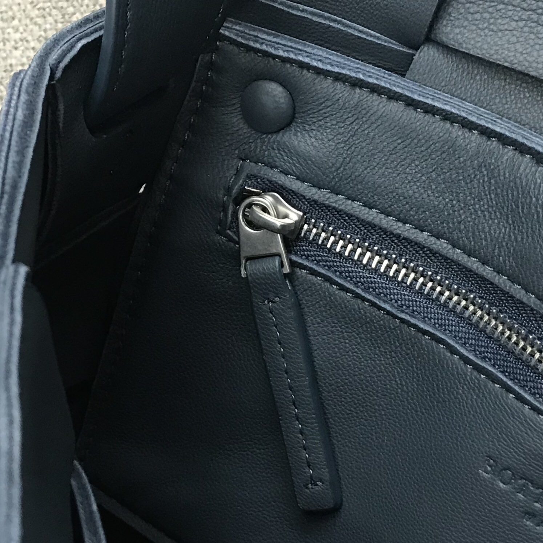 【P1620】新款手袋CASSETTE 编织 578004 尺寸23*15*5.5 深蓝