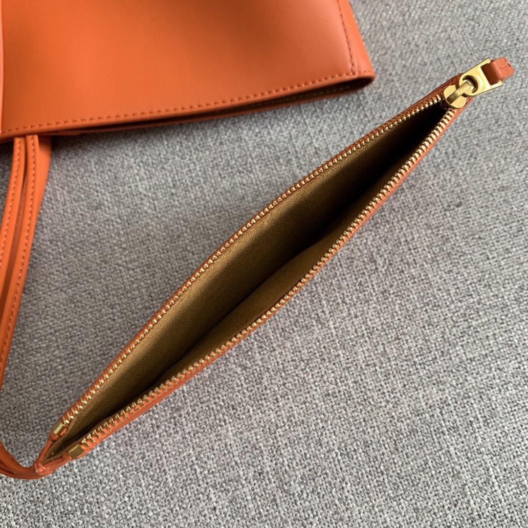 【P1950】新款 Bv Basket 576836牛皮/橙色 平纹 手提包