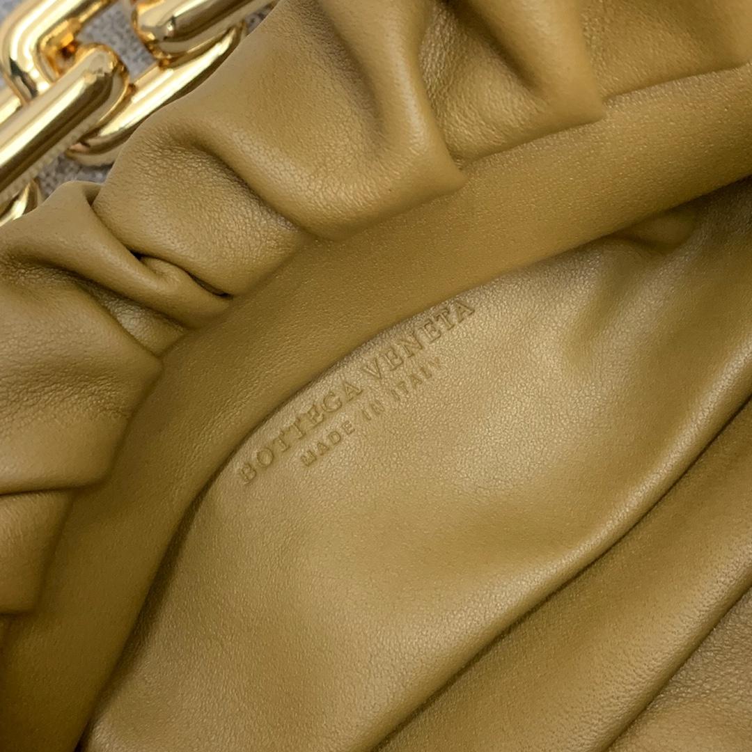 BottegaVeneta 大金链条配色云朵包 620230黄雀绿 31-12-6