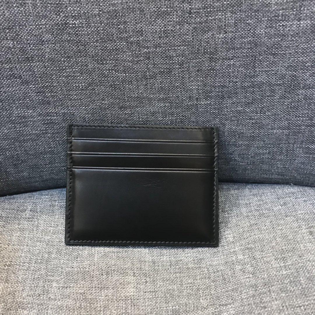 BV钱包 1051大格编织卡包出货 顶级原版胎牛皮 内里原版羊皮