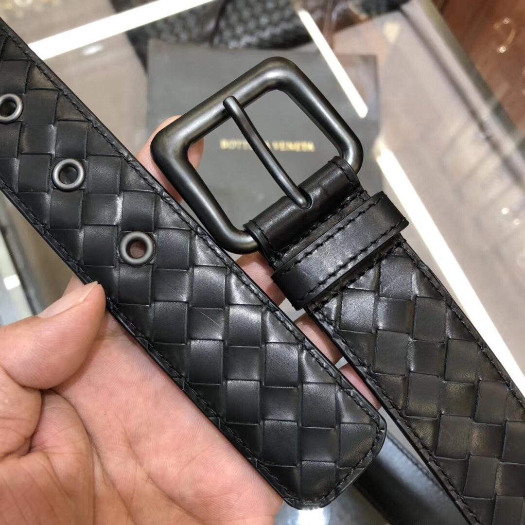 【¥680】BV宝碟佳升级了 手工编织皮带 意大利柔软进口胎牛皮全手工精工打造 3.5cm